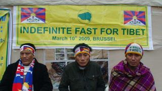 Brussels hunger strikers