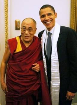 Obama&thelama
