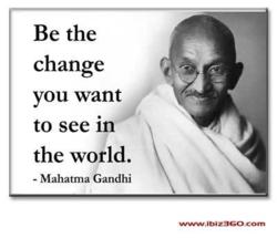 GandhiBetheChange